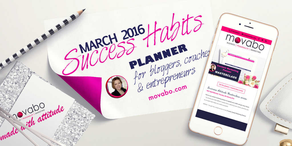 [FREE Download] Success Habits Planner Pdf for Entrepreneurs – March 2016